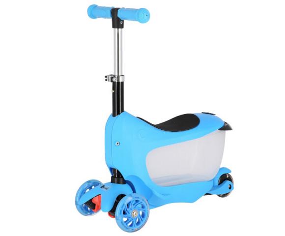 Koloběžka tříkolová NILS EXTREME HJD04 modrá