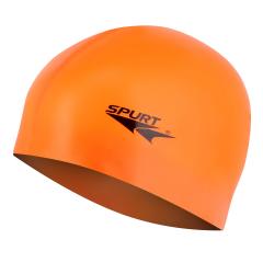 Silikonová čepice SPURT G-Type F202 junior, oranžová