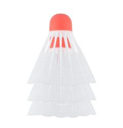Bílé badmintonové míčky NILS NL6003 3ks