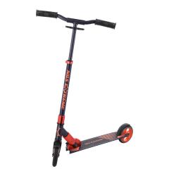 Koloběžka NILS Extreme HD145 grafit/oranžová