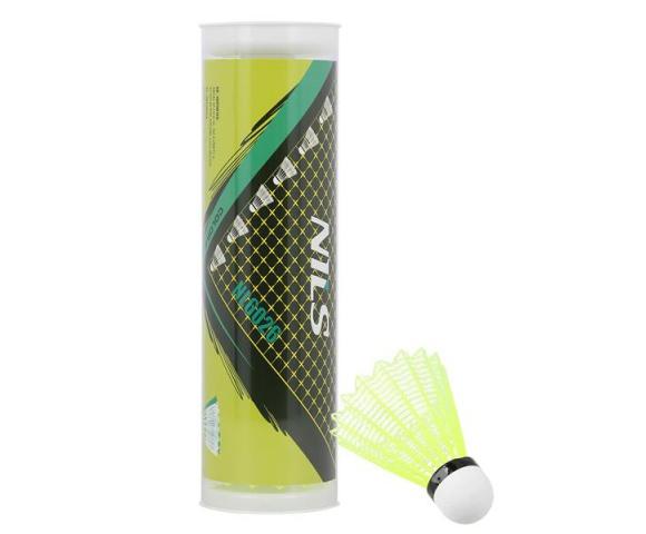 Barevné badmintonové míčky NILS NL6026 6 ks