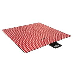 Pikniková deka NILS CAMP NC2311 červená