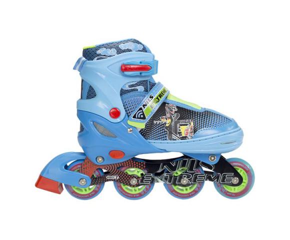 Dětské kolečkové brusle NILS EXTREME NJ 4605 A modré