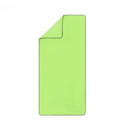 Ručník z mikrovlákna SPURT SRM11 zelený/černý