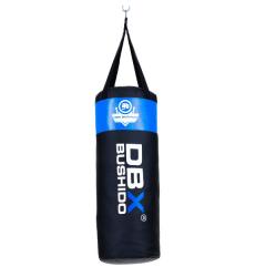 Boxovací pytel DBX BUSHIDO 80cm/30cm 15-20kg pro děti, modrý