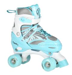 Quad kolečkové brusle NILS Extreme NQ1002 modré