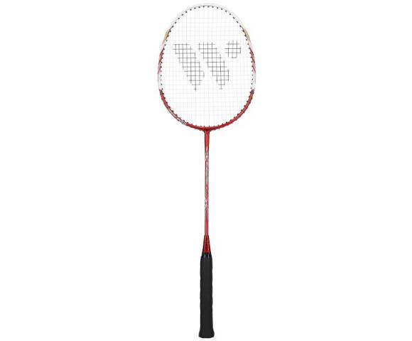 Badmintonová raketa WISH Fusiontech 2000 červeno-bílá