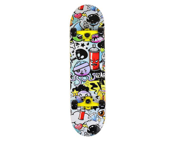 Skateboard NILS Extreme CR3108 SA Pop Art