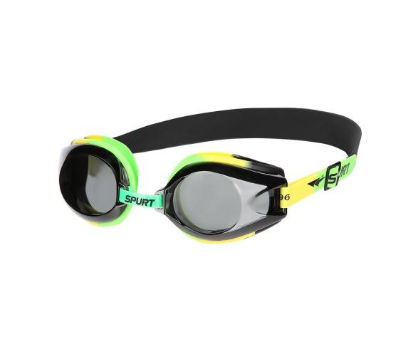 Plavecké brýle SPURT 1200 AF 25 zeleno-žluté