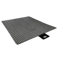 Pikniková deka NILS CAMP NC2310 maxi, černá