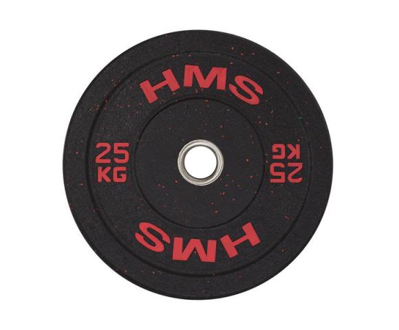 Olympijský bumper kotouč HMS HTBR 25 kg
