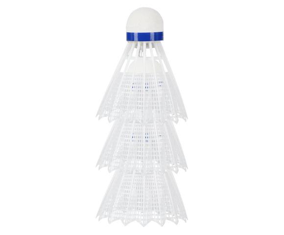 Bílé badmintonové míčky NILS NL6113 LED 3ks