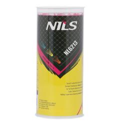 Barevné badmintonové míčky z pěří NILS NL6213 3ks