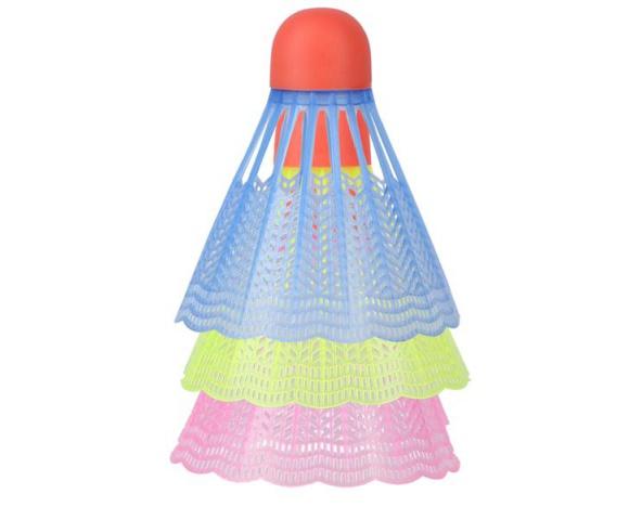 Barevné badmintonové míčky NILS NL6013 3ks