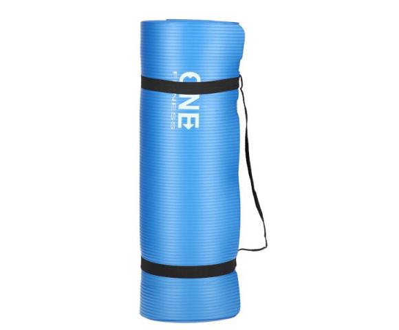 Jóga podložka ONE Fitness YM40 modrá