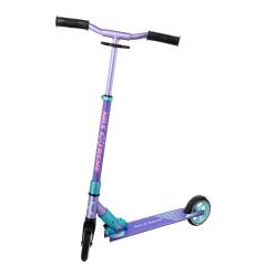 Koloběžka NILS Extreme HD145 fialová/mentol