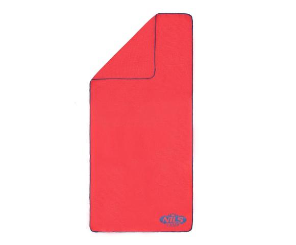 Froté ručník NILS Camp NCR01 růžový/tm.modrý